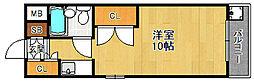 T's court 武庫之荘[201号室]の間取り