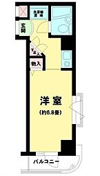 東京都荒川区東尾久5丁目の賃貸マンションの間取り