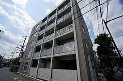 東京都調布市布田5丁目の賃貸マンションの外観
