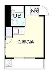 ブックスマンション南生田[2階]の間取り