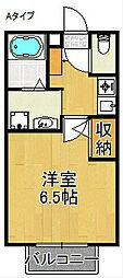 セジュールZIROZA B棟[1階]の間取り