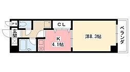 AUBE918[4階]の間取り