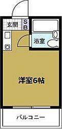 ロイヤルレスト本田[3階]の間取り