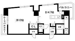 デルファーレ西宮[905号室]の間取り