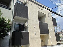兵庫県尼崎市西本町北通4丁目の賃貸アパートの外観