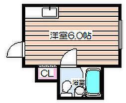 大阪府大阪市北区天満橋1の賃貸マンションの間取り