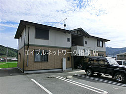 兵庫県たつの市神岡町大住寺の賃貸アパートの外観