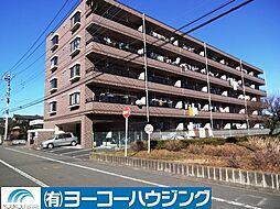 東京都あきる野市平沢東1丁目の賃貸マンションの外観