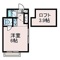 CHL相模大野[2階]の間取り