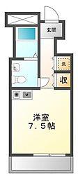 (分譲)新甲子園マンション[4階]の間取り