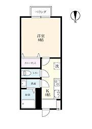 みつ弐番館[2階]の間取り