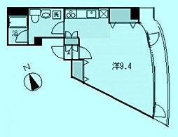 ハーベストヒルズ溝の口2[3階]の間取り