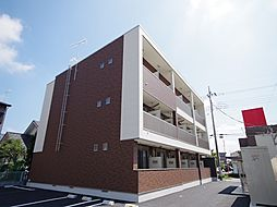 栃木県宇都宮市下栗1丁目の賃貸マンションの外観