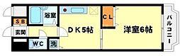 ノルデンハイム東三国 B棟[7階]の間取り