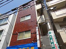 東京都目黒区鷹番3丁目の賃貸マンションの外観