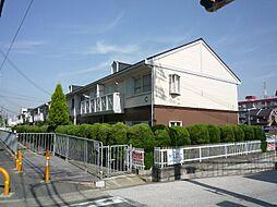 大阪府高槻市川添2丁目の賃貸アパートの外観