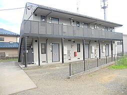 宮城県仙台市太白区上野山2丁目の賃貸アパートの外観