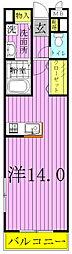 コモド カーサ[2階]の間取り
