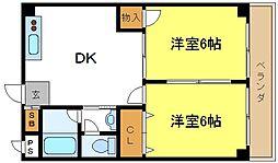 スペースライフ平野[304号室]の間取り