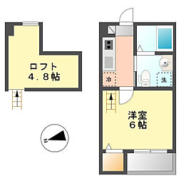 浅間町駅 4.7万円