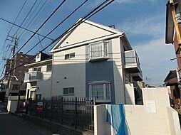 埼玉県草加市苗塚町の賃貸アパートの外観