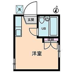 ラークテラス[2階]の間取り