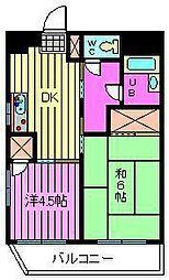 ジュネパレス川口第01[301号室]の間取り