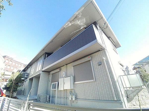 兵庫県神戸市東灘区岡本9丁目の賃貸アパート