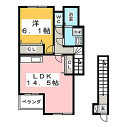 アーバン21II[2階]の間取り