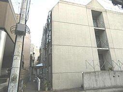 東京都新宿区神楽坂3の賃貸マンションの外観