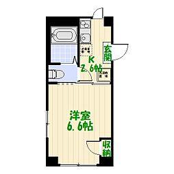 MY STREET 亀有[0101号室]の間取り