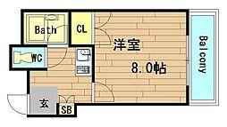 要マンション[5階]の間取り