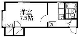 メゾンアシェンダー[2階]の間取り