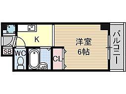 シャトー黒田[3階]の間取り