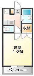 江坂第一下伊マンション[4階]の間取り
