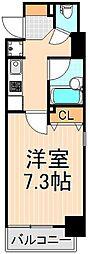 スクウェア浅草雷門[8階]の間取り