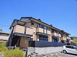 京都府木津川市州見台3丁目の賃貸アパートの外観
