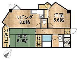 ツインコート寺島[7階]の間取り