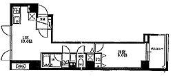 ボセジュール[3階]の間取り