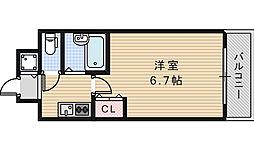 Signet阿倍野[5階]の間取り