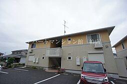 千葉県柏市小青田3丁目の賃貸アパートの外観