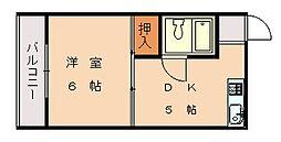 第6ファイブビル[2階]の間取り