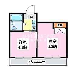 森ノ宮第2ビル[1階]の間取り