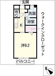 プランドールB棟[2階]の間取り