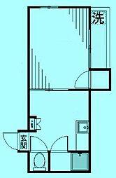 シティボックス宮崎台[3階]の間取り