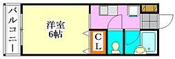 ピュア・メゾン・T&Y[2階]の間取り