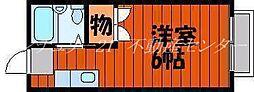 西川原駅 2.2万円