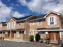 岡山県玉野市田井3の賃貸アパートの外観