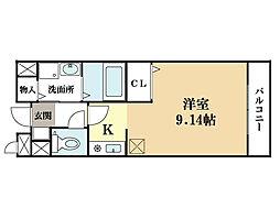 メゾン・ド・励歩[2階]の間取り