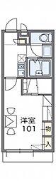 レオパレスグレイス[2階]の間取り